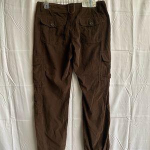 Old Navy brown corduroy pants Sz 12 Reg NEW w/tags